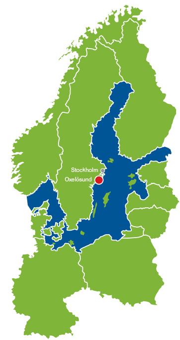 karta norra europa Bashamn Mälardalen   Oxelösunds Hamn AB karta norra europa